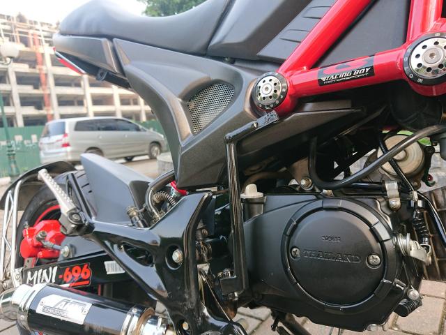 Ban YMH Ducati mini nhap Thai lan 2018 moi nguyen di dc 3000km chinh chu - 2