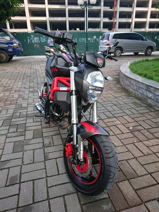 Ban YMH Ducati mini nhap Thai lan 2018 moi nguyen di dc 3000km chinh chu - 3
