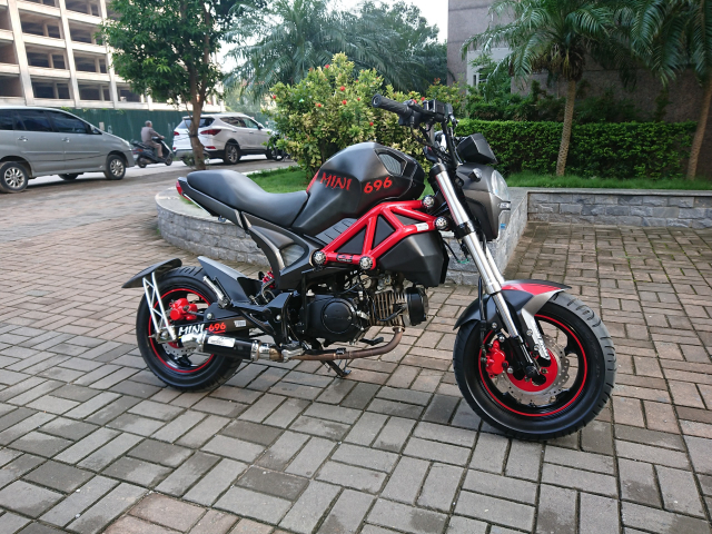 Ban YMH Ducati mini nhap Thai lan 2018 moi nguyen di dc 3000km chinh chu - 4