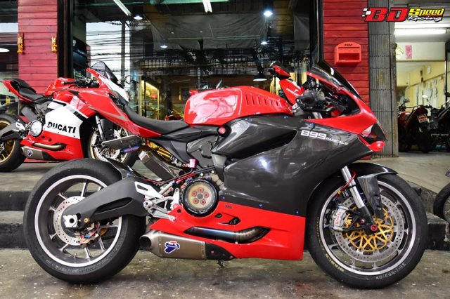 Ducati 899 Panigale ban tuy chinh kha loi cuon den tu Bd Speed Racing - 3