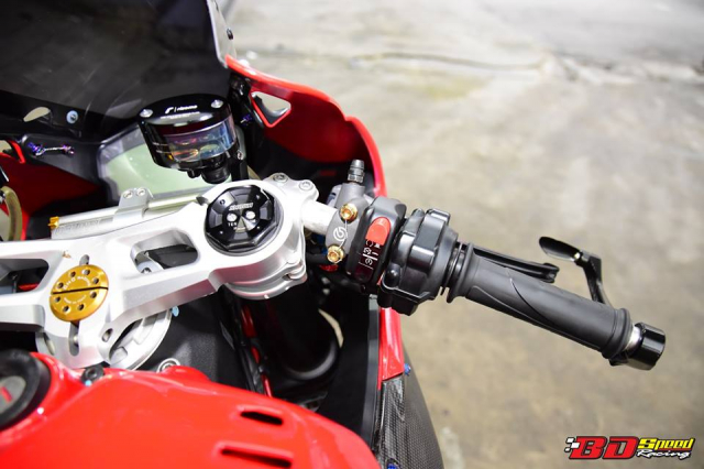 Ducati 899 Panigale ban tuy chinh kha loi cuon den tu Bd Speed Racing - 9