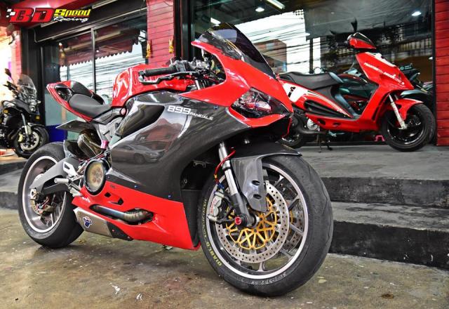 Ducati 899 Panigale ban tuy chinh kha loi cuon den tu Bd Speed Racing - 11