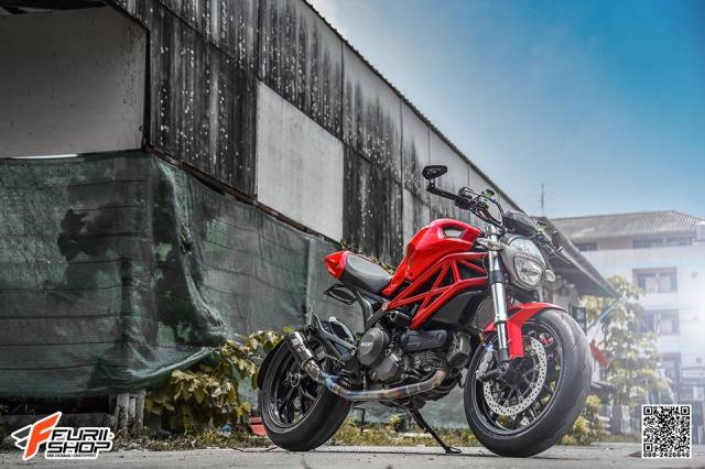 Ducati Monster 796 ban nang cap hoan hao den tu Furii Shop - 3