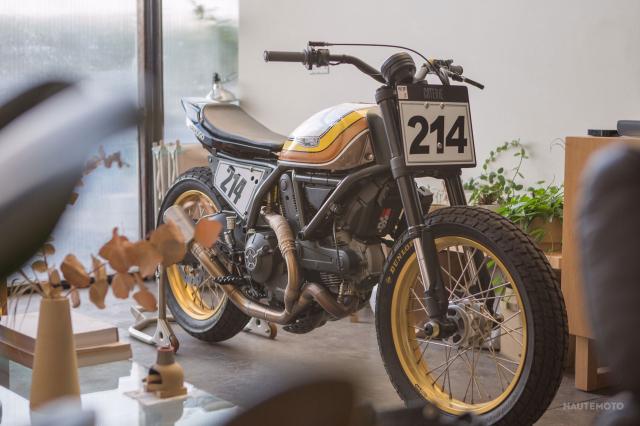 Ducati Scrambler ban bien doi Super Hooligan danh cho duong dua - 2