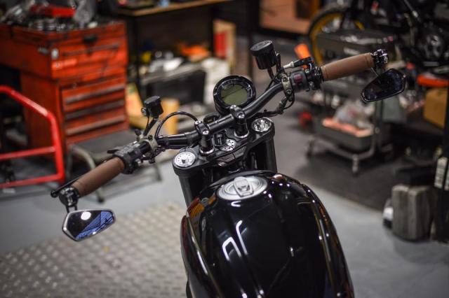Ducati Scrambler Cafe Racer ve dep kho cuong khi qua tay Mugello - 4