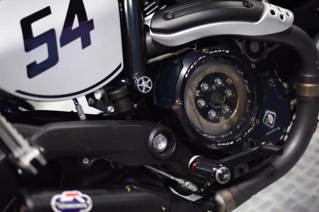Ducati Scrambler Cafe Racer ve dep kho cuong khi qua tay Mugello - 6
