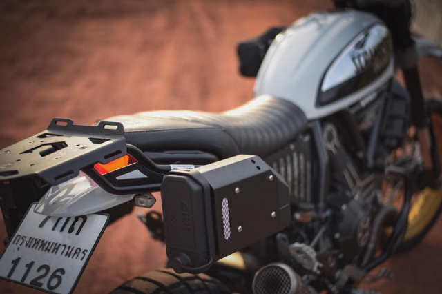 Ducati Scrambler Desert Sled ban nang cap Touring den tu Mugello - 7