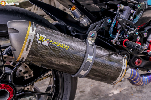 Exciter 150 do sieu pham tuyet dinh voi dan chan Ducati 1198 SP - 8