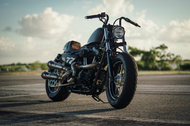 Harley Davidson Sporter ban tuy chinh dac biet mang ten The 77 Special - 3