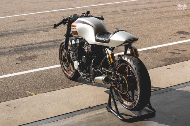 Honda Nighthawk 750 ban tuy chinh den tu Kaspeed Moto - 5