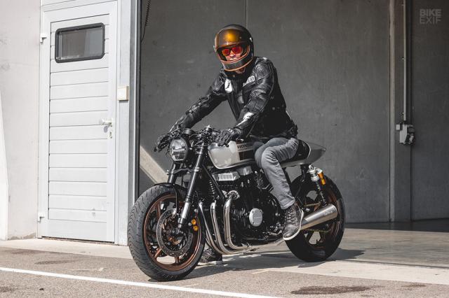 Honda Nighthawk 750 ban tuy chinh den tu Kaspeed Moto - 11