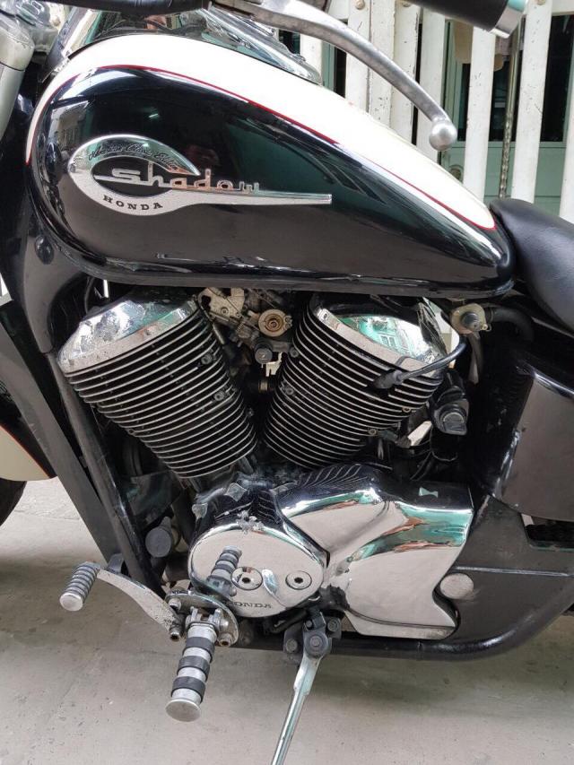 Honda shadow 750 may rin 100 em da man - 2