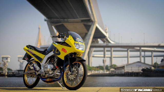Kawasaki Serpico 150 do dan chan khien nguoi xem tan chay con tim - 12