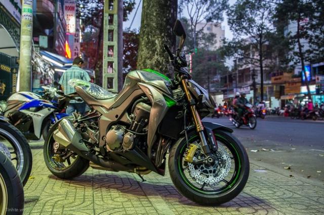 Kawasaki Z1000 2014 - 7