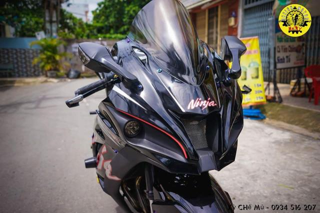 Kawasaki Z800 Hoan gan doi cot theo hinh dang ZX10R
