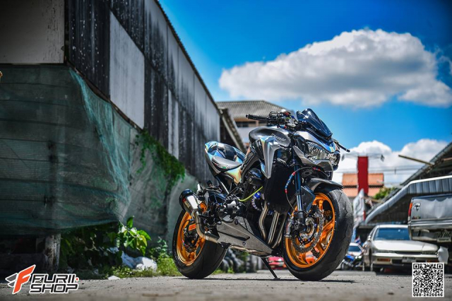 Kawasaki Z900 do sieu khung tu nha tai tro Gale Speed - 3