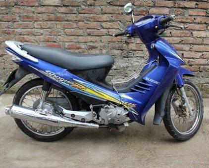 Len xe tay ga nen can ban xe so 125cc Suzuki ShogunR - 5