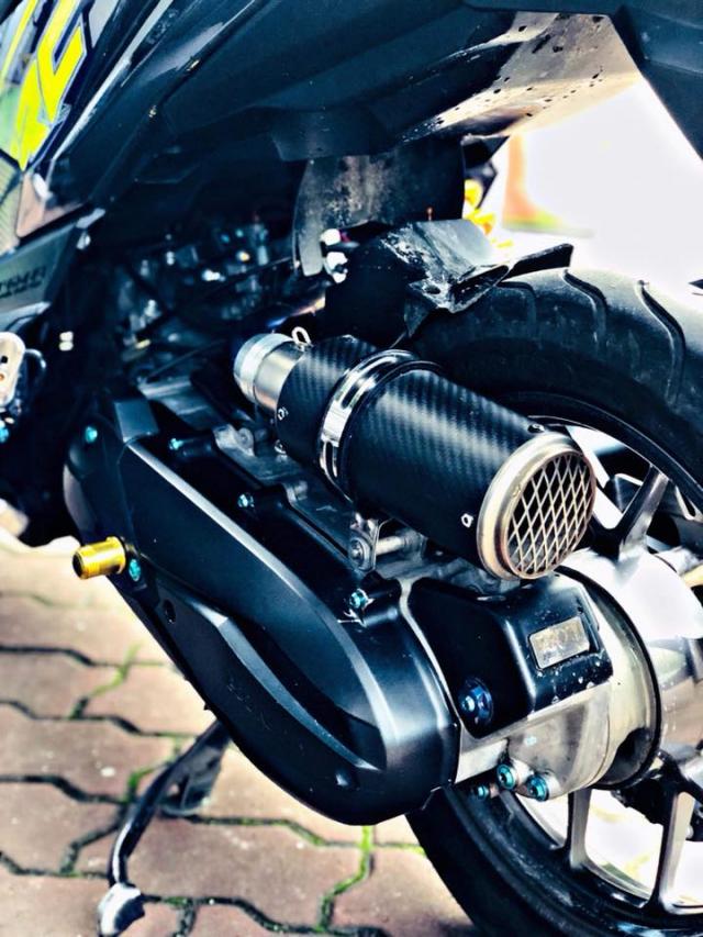 Vario 150 do phuoc xeo phong cach Ducati vua ra mat ban do moi - 7
