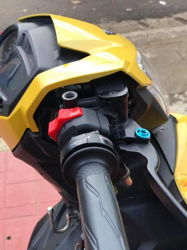 Nhin ngam Exciter 150 do phong cach Pikachu Racing sieu de cung - 5