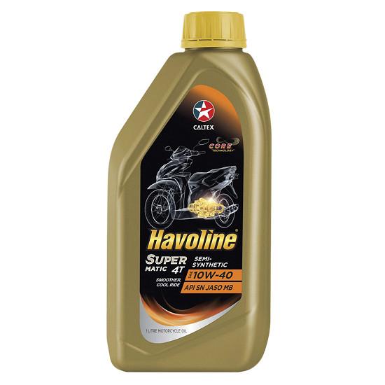NHOT XE MAY TAY GA BON THI HIEU NANG CAO Havoline SuperMatic 4T SemiSynthetic SAE 10W40 - 3