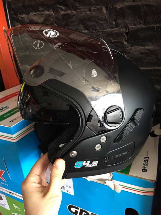 NON NOLAN GREX G42 PRO FLAT BLACK - 3