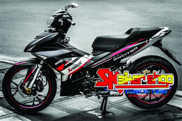 Tem trum Exciter 150 Sk Biker Shop - 2
