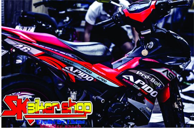 Tem trum Exciter 150 Sk Biker Shop - 6