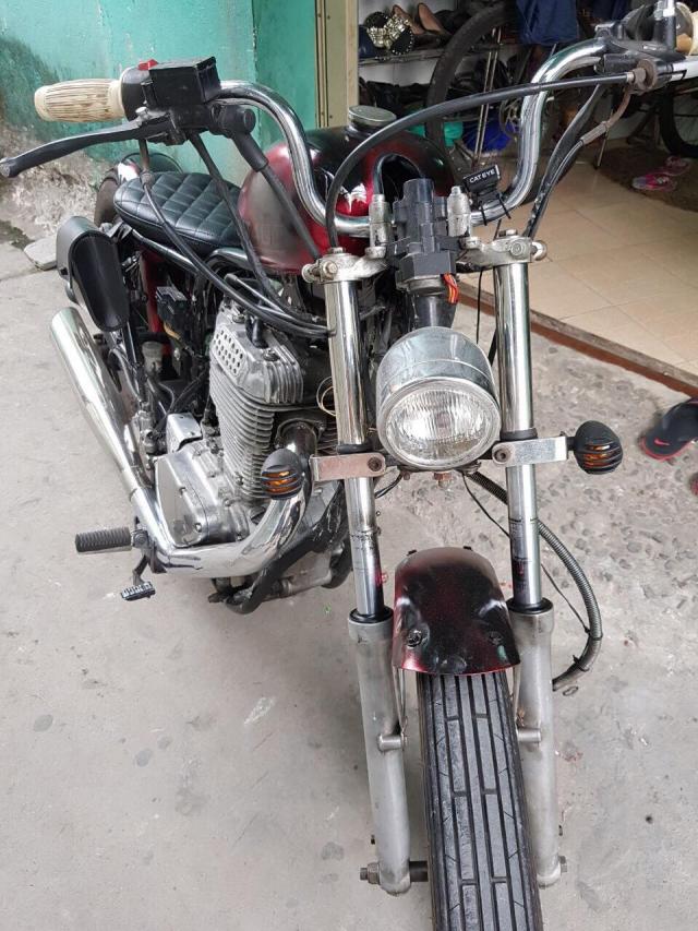 Suzuki st400 do dang chopper may moc mien ban - 2