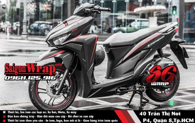 Tem Che Vario Click 2018 Dep Doc SaiGonWRAP Design Thi Cong Tem Xe Chuyen Nghiep - 12