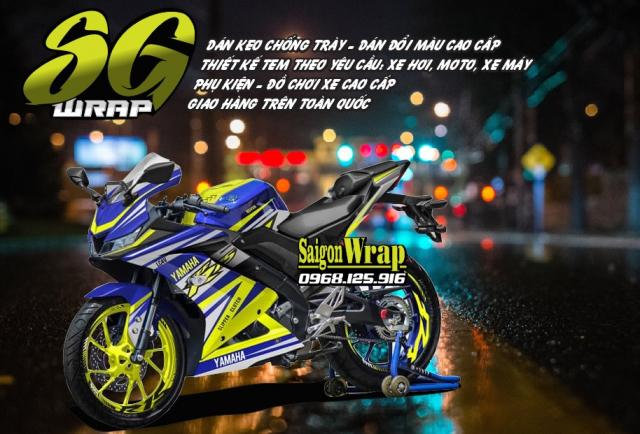 Tem Che Yamaha R15 V3 Dep Doc SaiGonWRAP Design Thi Cong Tem Xe Chuyen Nghiep - 32
