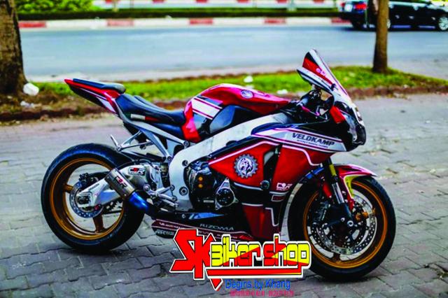 Tem Trum CBR 1000 SK Biker Shop - 5