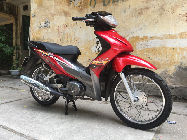 Wave RS 110 mau do den may nguyen cuc chat 30L1 0501 - 3