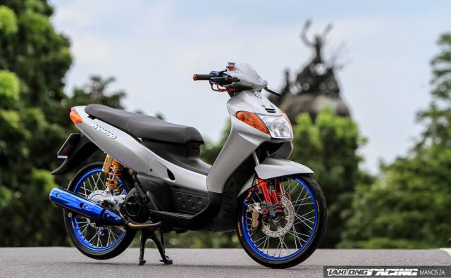 Yamaha Nouvo do chien binh the he dau hoi sinh cuc ac chien - 8