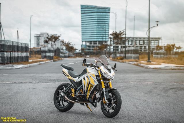 Yamaha FZ150i do tien hoa thanh thanh sieu pham Kawasaki Z1000 tren dat Viet - 22