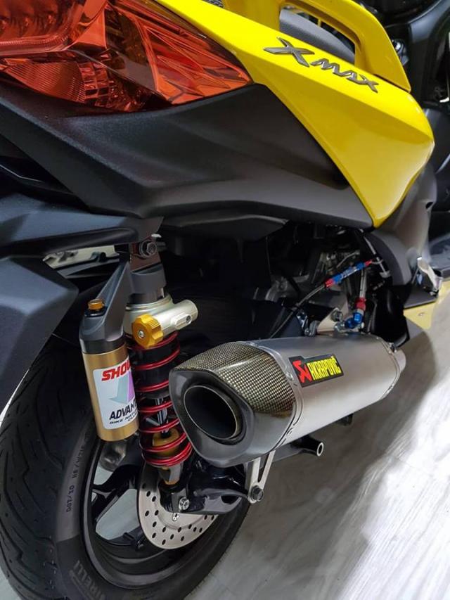 Yamaha XMax300 ban tuy chinh kha loi cuon tai NBB RacingParts - 13