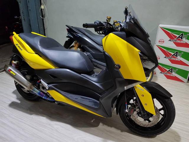 Yamaha XMax300 ban tuy chinh kha loi cuon tai NBB RacingParts - 15