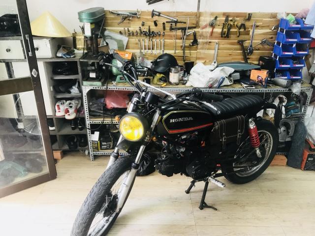 Win lien doanh 110cc do Tracker CAS garage - 3