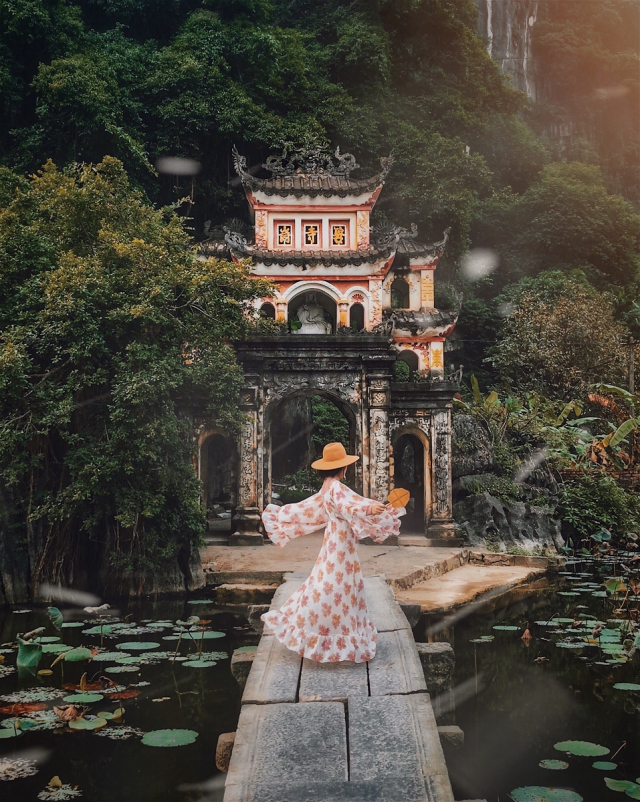 Tien canh tran gian o Ninh Binh duoc co nang 9X chinh phuc - 13