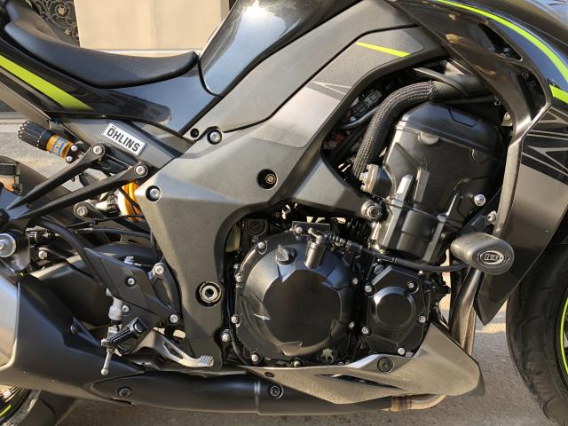 __ Ban kawasaki Z1000 R ban dat biet ABS odo 2200km HQCN DKLD T92018 xe keng nhu xe thung - 11