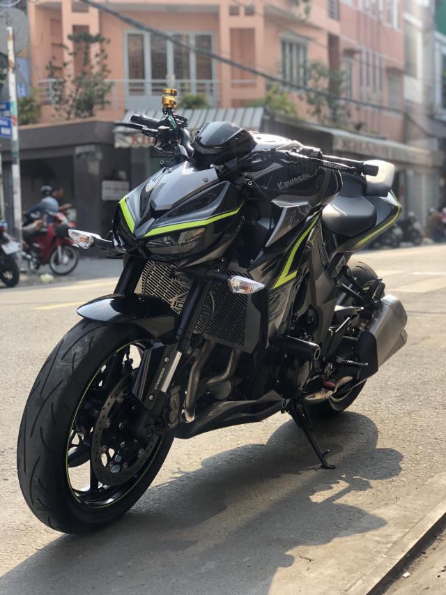 __ Ban kawasaki Z1000 R ban dat biet ABS odo 2500km HQCN DKLD T72017 xe keng nhu xe thung