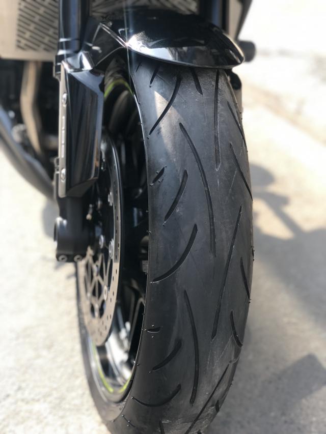 __ Ban kawasaki Z1000 R ban dat biet ABS odo 2500km HQCN DKLD T72017 xe keng nhu xe thung - 7