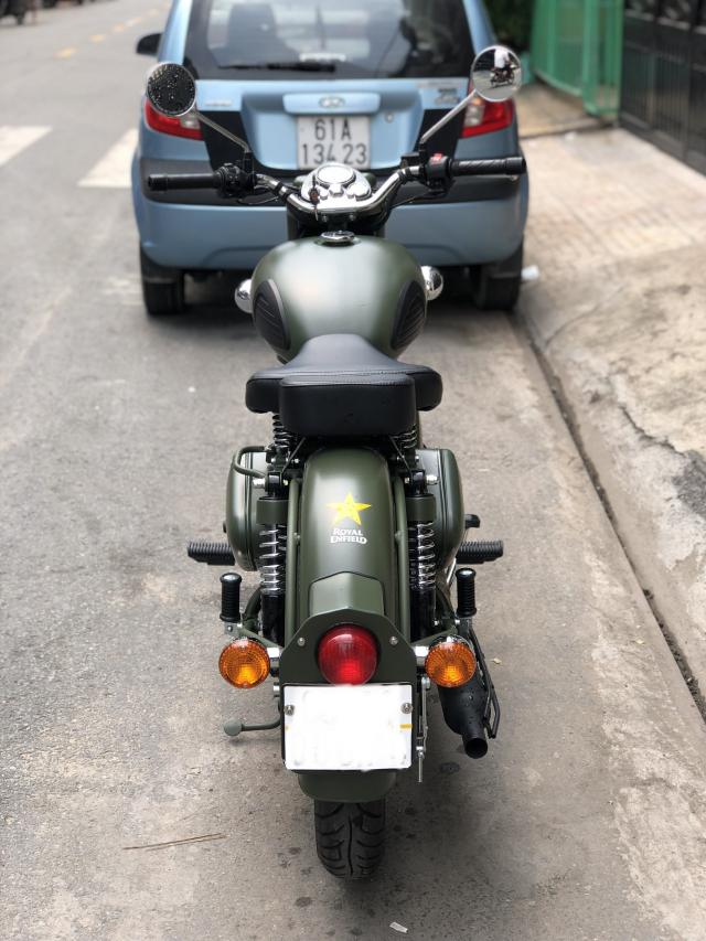 __ Can Ban xe Royal Enfield Battle Green 500cc Mau xanh quan doi la mau nguyen thuy cua Royal Enfie - 5