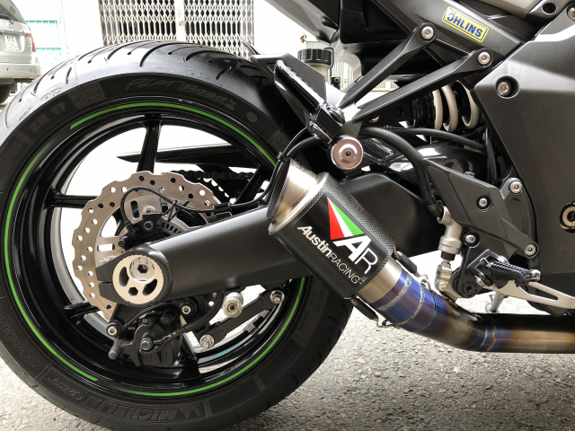 __Can Ban Kawasaki z1000 ABS date 2016 mau xanh xam nham odo 6699km HQCN ngay chu dung ban - 9
