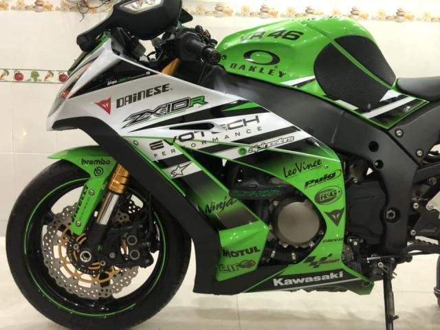 Ban Kawasaki ZX10r 30th Anniversary Edition2015