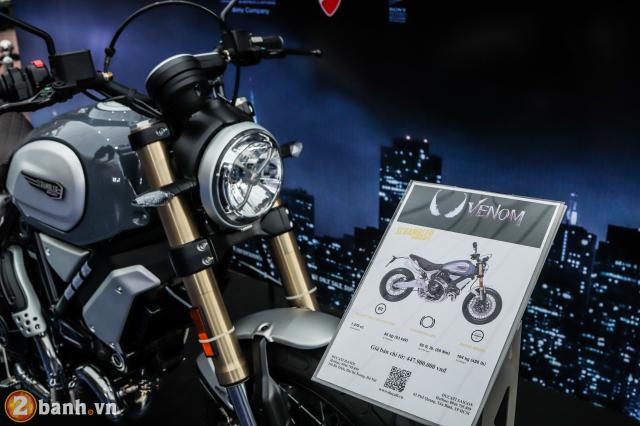 Ducati Scrambler 1100 Special gia tu 448 trieu Dong xuat hien trong ngay ra mat phim Venom - 2