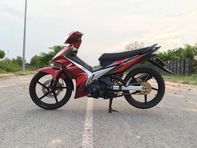 Exciter 135 do chat choi voi phong cach mam Sonic 5 cay doc la - 6