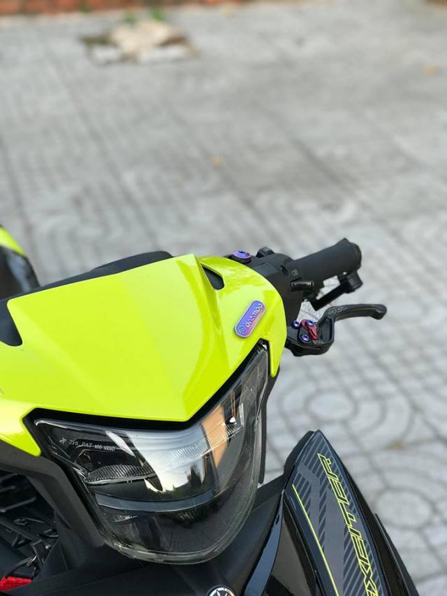 Exciter 150 do don gian nhung van loi cuon nguoi xem cua biker Vung Tau - 3