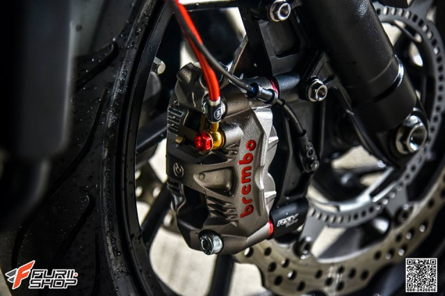 Honda CB650F do com can voi dan chan hang hieu - 5