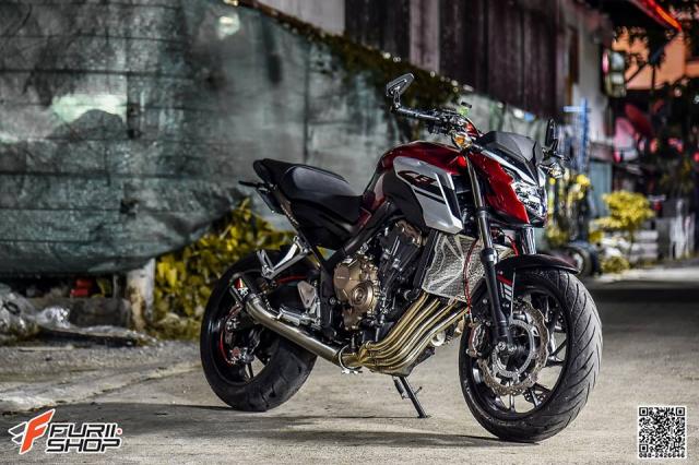 Honda CB650F do com can voi dan chan hang hieu - 7