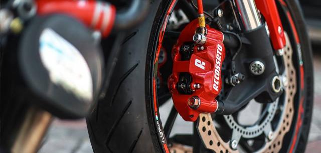 Honda CB650F man ma voi dan option Accossato - 5